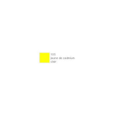 POLYCHROMOS CRAYON COULEUR 105 jaune de cadmium clair