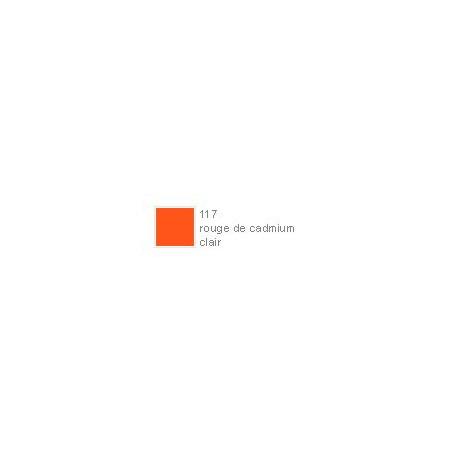 POLYCHROMOS CRAYON COULEUR 117 rouge de cadmium clair