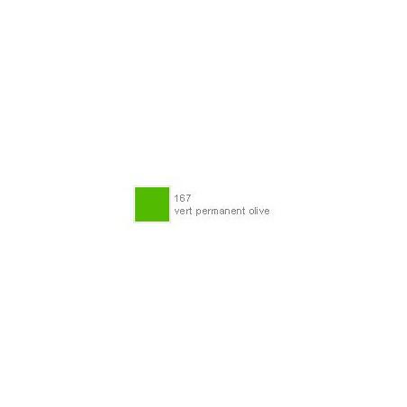POLYCHROMOS CRAYON COULEUR 167 vert permanent olive