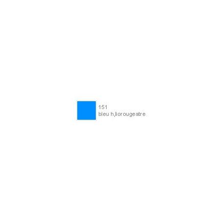 POLYCHROMOS CRAYON COULEUR 151 bleu heliorougeatre