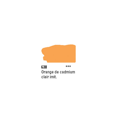 SYSTEM 3 ACRYLIQUE 500ML 638 ORANGE CADMIUM CL IMIT