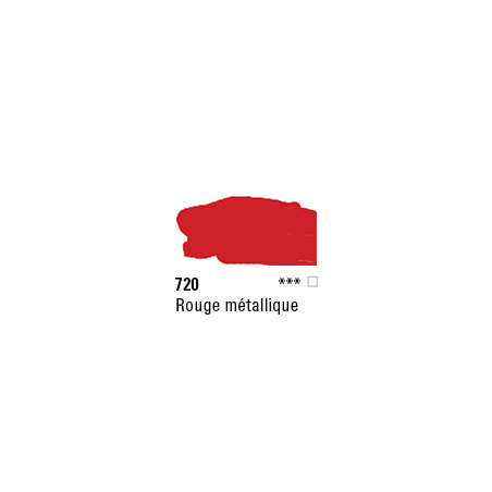 SYSTEM 3 ACRYLIQUE 500ML 720 ROUGE METALLIQUE