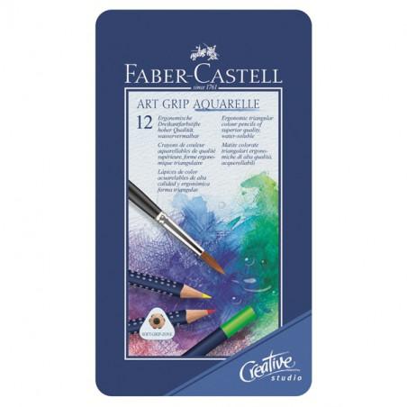 "Faber castell ""art grip"" crayon aquarellable assortiment"