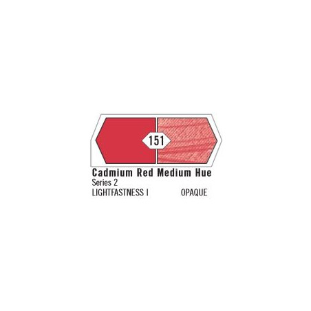 LIQUITEX HEAVY BODY ACRYLIQUE 138ML S5 151 ROUGE CAD MOY IMIT