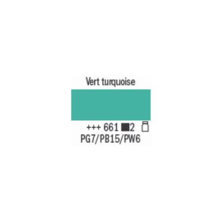 AMSTERDAM ACRYL EXPERT 400ML S2 661 VERT TURQUOISE
