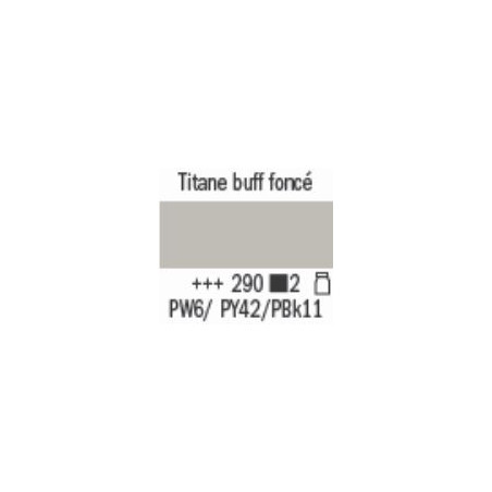AMSTERDAM ACRYL EXPERT 400ML S2 290 BUFF TITANE FONCE