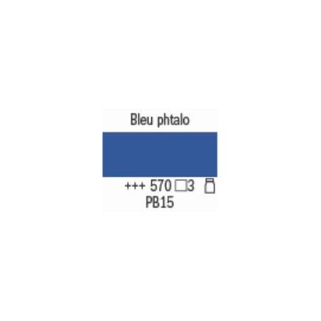 AMSTERDAM ACRYL EXPERT 400ML S3 570 BLEU PHTALO