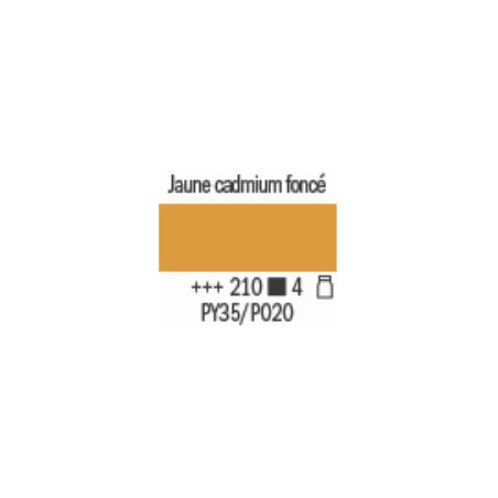 AMSTERDAM ACRYL EXPERT 400ML S4 210 JAUNE CADMIUM FONCE