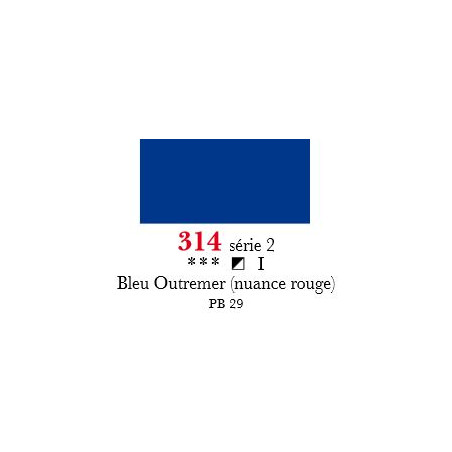 SENNELIER ACRYLIQUE EXTRAFINE 60ML S2 314 BLEU OUTREMER ROUGE