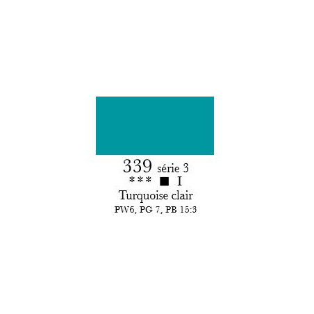 SENNELIER ACRYLIQUE EXTRAFINE 60ML S3 339 TURQUOISE CLAIR