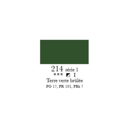 SENNELIER ACRYLIQUE EXTRAFINE 60ML S1 214 TERRE VERTE BRULEE