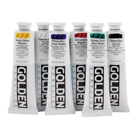 Golden Heavy Body peinture acrylique