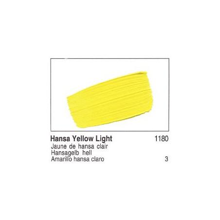 GOLDEN ACRYLIQUE 60ML S3 1180 JAUNE HANSA CLAIR