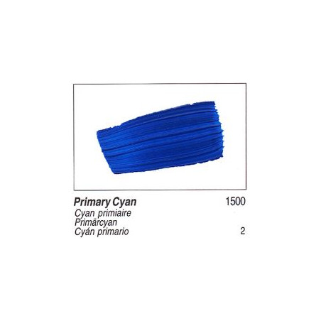 GOLDEN ACRYLIQUE 60ML S2 1500 CYAN PRIMAIRE