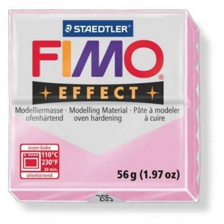FIMO EFFECT PATE A MODELER 56G 205 ROSE PASTEL