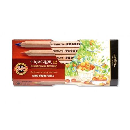 Boîte de crayons grande taille Triocolor Koh-i-Noor