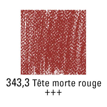 REMBRANDT PASTEL SEC 343,3 TETE MORTE ROUGE