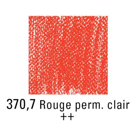 REMBRANDT PASTEL SEC 370,7 ROUGE PERMANENT CLAIR