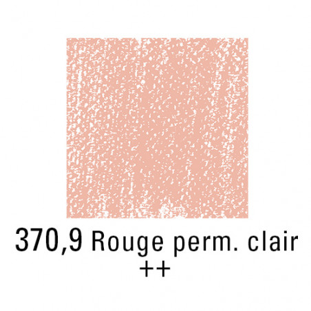 REMBRANDT PASTEL SEC 370,9 ROUGE PERMANENT CLAIR