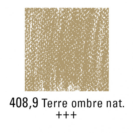 REMBRANDT PASTEL SEC 408,9 TERRE OMBRE NATURELLE