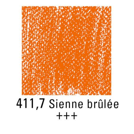 REMBRANDT PASTEL SEC 411,7 TERRE SIENNE BRULEE