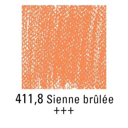 REMBRANDT PASTEL SEC 411,8 TERRE SIENNE BRULEE