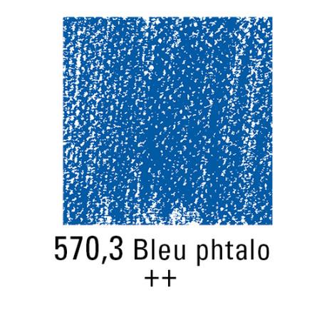 REMBRANDT PASTEL SEC 570,3 BLEU PHTALO