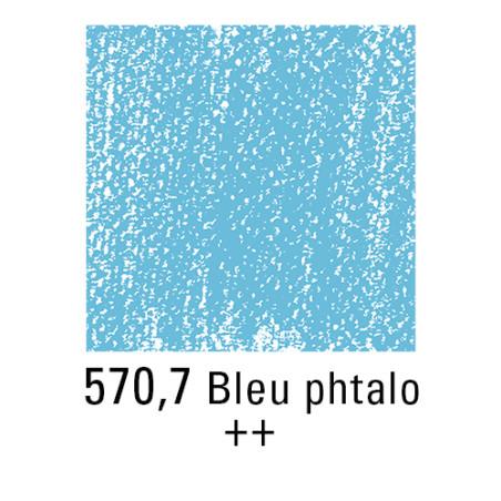 REMBRANDT PASTEL SEC 570,7 BLEU PHTALO