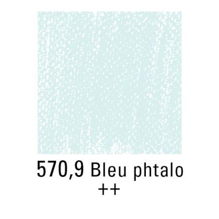 REMBRANDT PASTEL SEC 570,9 BLEU PHTALO