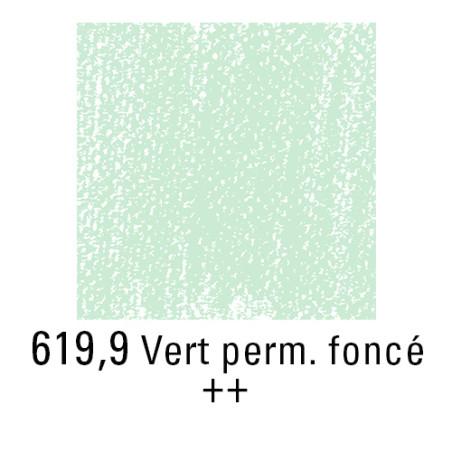 REMBRANDT PASTEL SEC 619,9 VERT PERMANENT FONCE