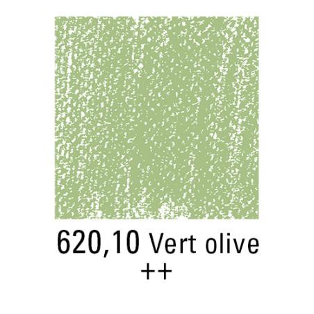 REMBRANDT PASTEL SEC 620,10 VERT OLIVE