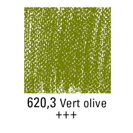 REMBRANDT PASTEL SEC 620,3 VERT OLIVE
