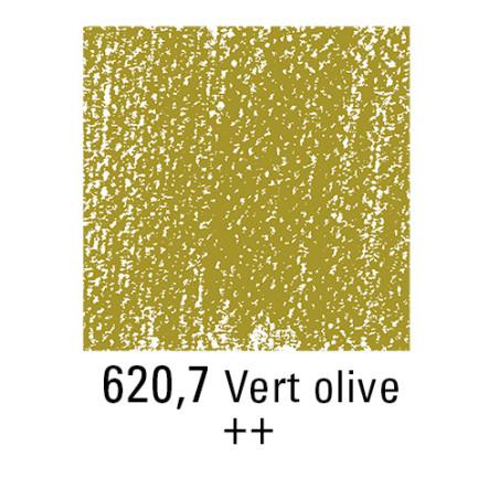 REMBRANDT PASTEL SEC 620,7 VERT OLIVE