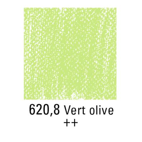 REMBRANDT PASTEL SEC 620,8 VERT OLIVE