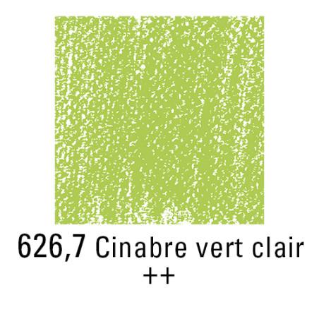 REMBRANDT PASTEL SEC 626,7 VERT CINABRE CLAIR