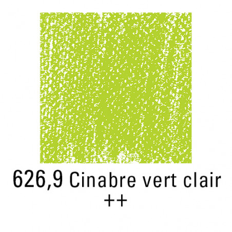 REMBRANDT PASTEL SEC 626,9 VERT CINABRE CLAIR