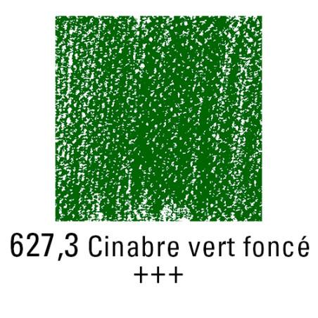 REMBRANDT PASTEL SEC 627,3 VERT CINABRE FONCE