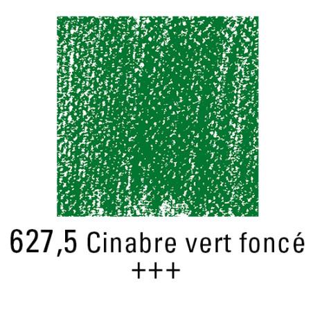 REMBRANDT PASTEL SEC 627,5 VERT CINABRE FONCE