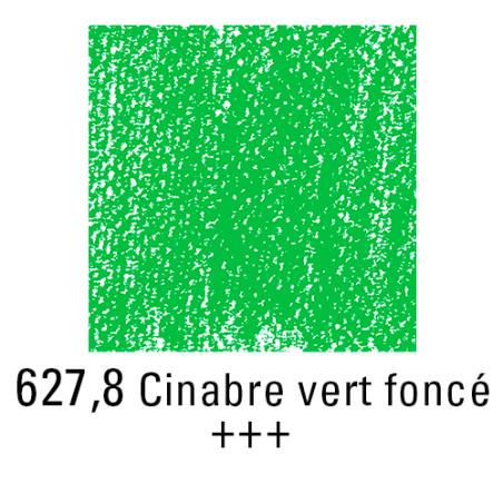 REMBRANDT PASTEL SEC 627,8 VERT CINABRE FONCE
