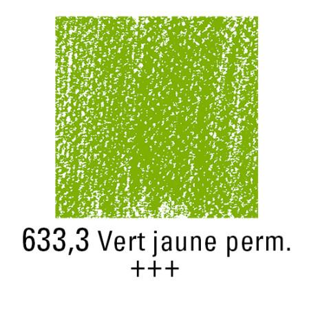 REMBRANDT PASTEL SEC 633,3 VERT JAUNE PERMANENT