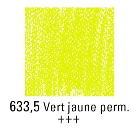 REMBRANDT PASTEL SEC 633,5 VERT JAUNE PERMANENT