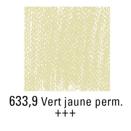 REMBRANDT PASTEL SEC 633,9 VERT JAUNE PERMANENT
