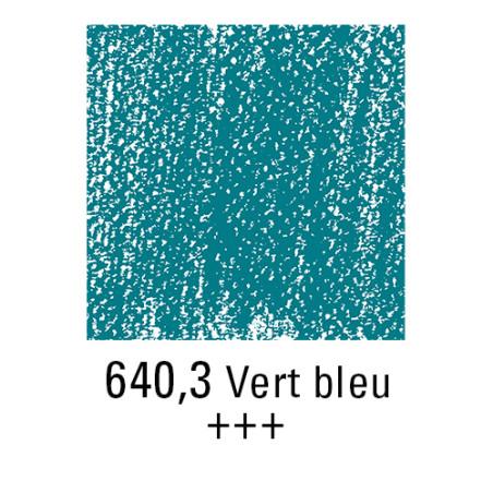 REMBRANDT PASTEL SEC 640,3 VERT BLEUATRE