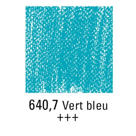 REMBRANDT PASTEL SEC 640,7 VERT BLEUATRE