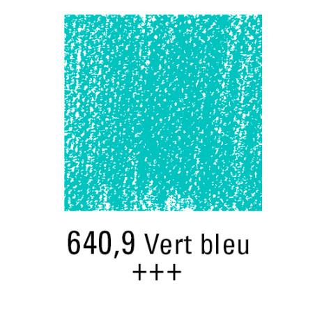 REMBRANDT PASTEL SEC 640,9 VERT BLEUATRE