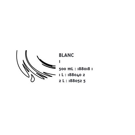 COLOR&CO GOUACHE 2L 1 BLANC