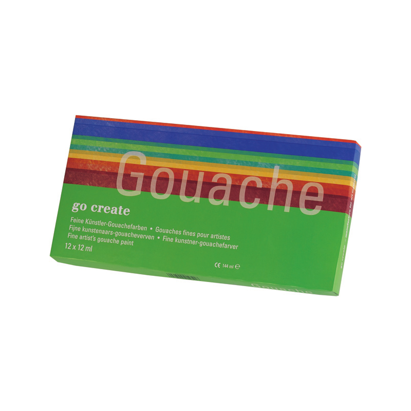 Tube de gouaches fine
