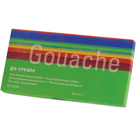 Assortiment de gouaches Go Create