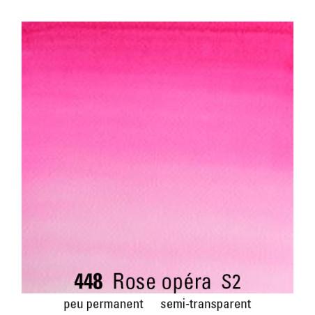 WINSOR&NEWTON AQUARELLE 1/2 GODET S2 448 ROSE OPERA