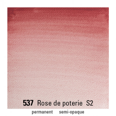 WINSOR&NEWTON AQUARELLE GODET S2 537 ROSE POTERIE
